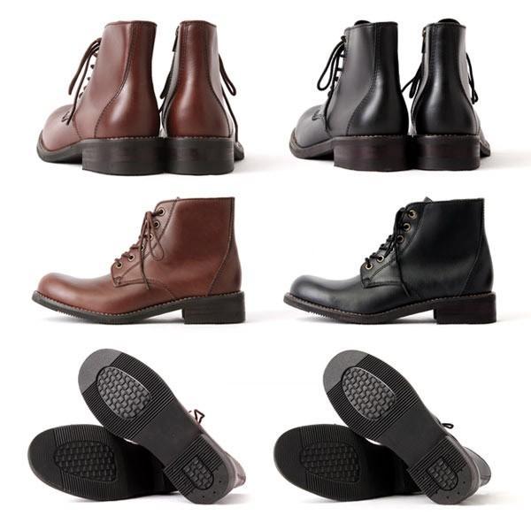 ブーツ メンズ メンズブーツ サイドジップ ワークブーツ 本革 エイチツーヴォルト H2VOLT1200 pennepenne 05