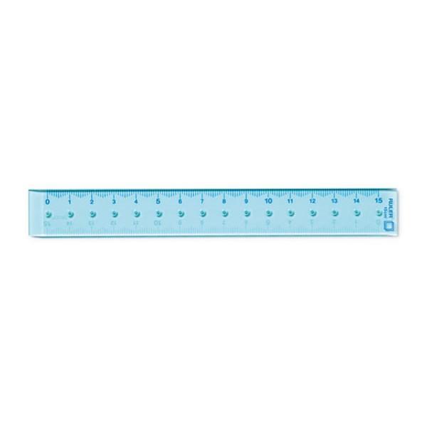 CL定規15cm 【青】 2338 デザインフィル 42233006