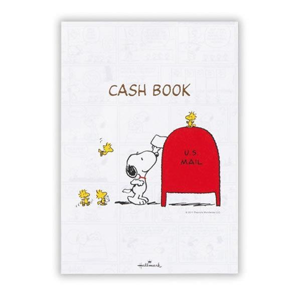 スヌーピー 家計簿 キャッシュブック 9473 ホールマーク EFK-619-473