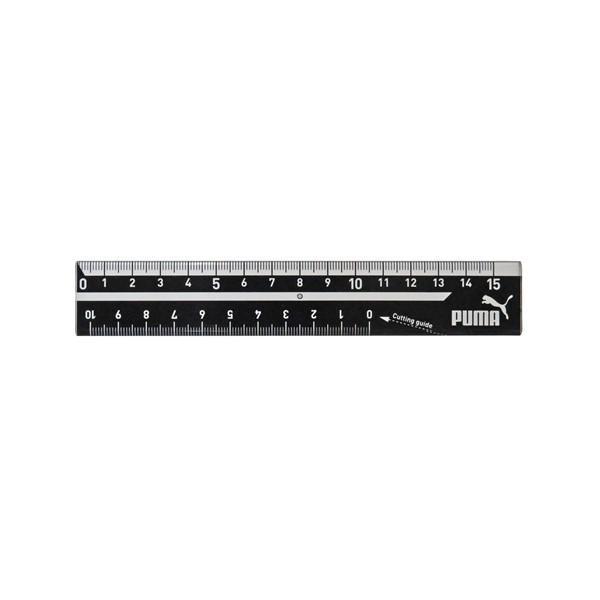 プーマ 直線定規(15cm) 【シンプルロゴ】 5216 クツワ PM194