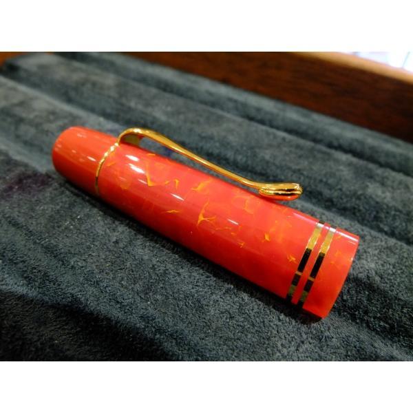 万年筆 ペリカン M101N ブライトレッド 特別生産品|pens-ally|02