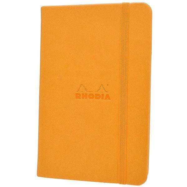 ロディア RHODIA A6サイズ ウェブノートブック cf118568 オレンジ 5mmドット方眼 / 高級 ブランド 大人可愛い おすすめ 男性 女性 人気 おしゃれ
