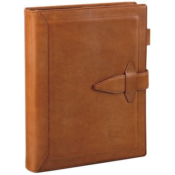 ダ・ヴィンチ システム手帳 グランデ ロロマクラシック A5サイズ リング30mm ブラウン DSA3013C / 高級 ブランド おすすめ 男性 女性 おしゃれ
