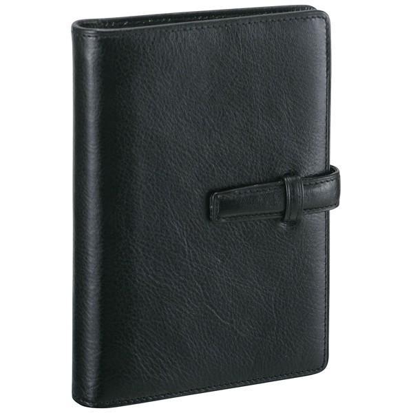 ダ・ヴィンチ システム手帳 スタンダード ポケットサイズ リング14mm DP3008B ブラック 28575 / 高級 ブランド プレゼント おすすめ 男性 女性 人気