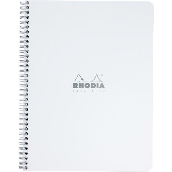 ロディア RHODIA 5冊パック クラシック ダブルリングノート A4 ホワイト 5mm方眼 CF193001S / 高級 ブランド 大人可愛い おすすめ 男性 女性 人気 おしゃれ