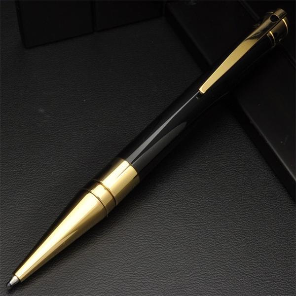 ボールペン デュポン 名入れ 無料 DUPONT D-イニシャル 265202 ブラック&ゴールド / 高級 ブランド プレゼント おすすめ 男性 女性 人気 かっこいい かわいい