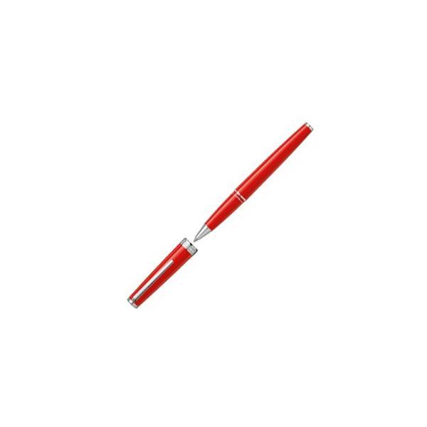 ボールペン モンブラン 名入れ 無料 MONTBLANC ローラーボール PIX ピックス レッド U114813 / 高級 ブランド キャップ式 プレゼント おすすめ 女性 人気