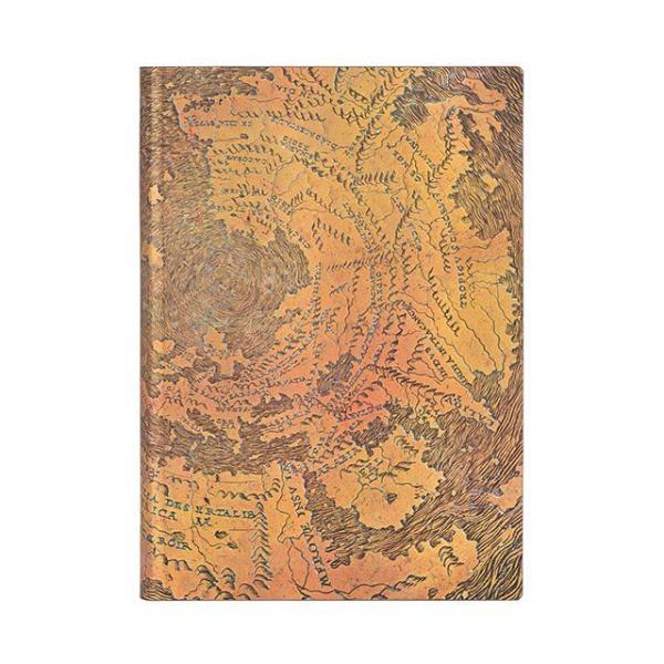 ペーパーブランクス ノートブック Flexis ミディ MIDI Flexis ハント・レノックスの地球儀 FB7270-6 罫線 / 高級 ブランド おすすめ 人気 おしゃれ