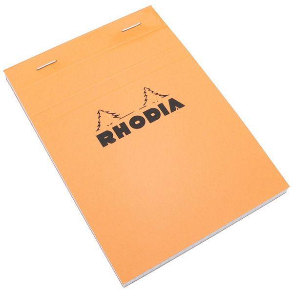 ロディア RHODIA 単品 ブロックロディア No.13 オレンジ 5mm方眼 CF13200 7008 / 高級 ブランド プレゼント おすすめ 男性 女性 人気 おしゃれ
