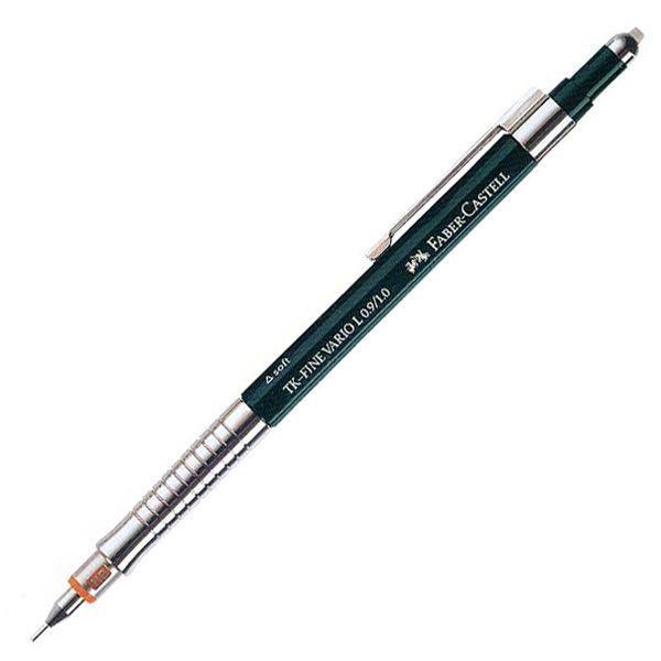シャープペン ファーバーカステル 名入れ  デザイン バリオL 135900  0.9/1.0mm / 高級 ブランド プレゼント おすすめ 男性 女性 人気 かっこいい かわいい