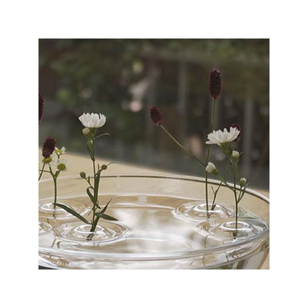 【送料300円】フローティングベース/リプル/水に浮かぶ一輪挿し/花器/フラワーベース/oodesign/Floating Vase/RIPPLE【宅急便コンパクト対応】|pepapape|05
