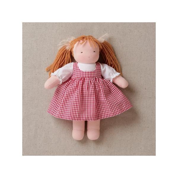 着せ替え人形<中>妹 キット/ウォルドルフ人形/アトリエ ディ・ムッター・ゾンネ