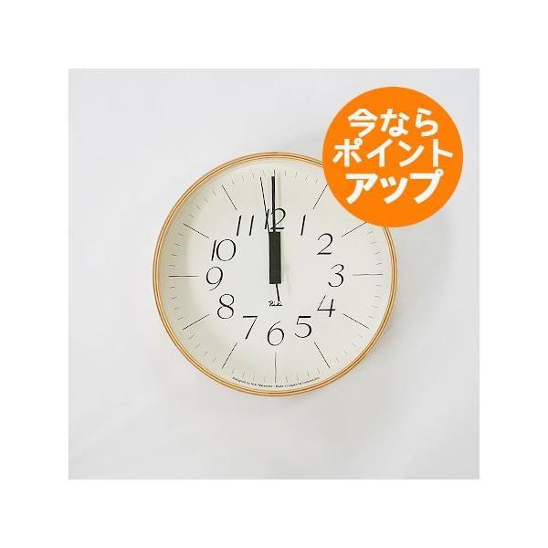 【旧タイプの為、値引き販売しています】リキクロック/Mサイズ/電波時計/細文字タイプ/壁掛け時計/Lemnos/レムノス/渡辺 力|pepapape