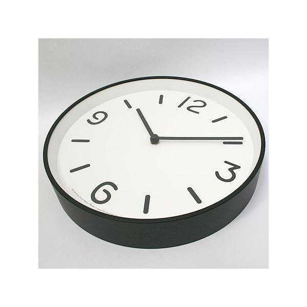 【送料無料】MONO Clock/モノクロック/ホワイト(LC10-20 A WH)/壁掛け時計/Lemnos/レムノス/奈良雄一|pepapape|02