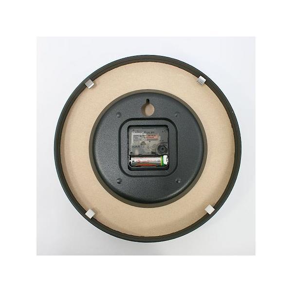 【送料無料】MONO Clock/モノクロック/ホワイト(LC10-20 A WH)/壁掛け時計/Lemnos/レムノス/奈良雄一|pepapape|04