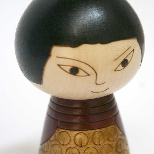 こけし/日本人/オリジナル/リサ・ラーソン/kokechi/オブジェ/置物/木製/ヤパンンスカ/彫刻/Lisa Larson/Japanska/Sculptures|pepapape|04