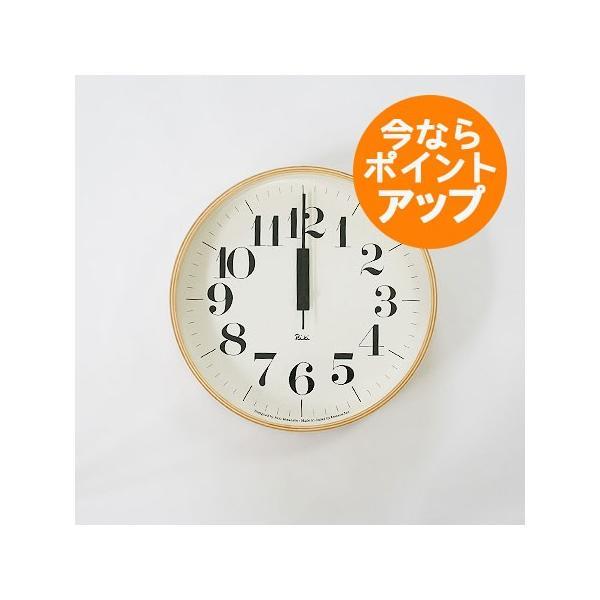 【送料無料】リキクロック/RC/Mサイズ/電波時計/太文字タイプ/壁掛け時計/Lemnos/レムノス/渡辺 力/RIKI CLOCK|pepapape