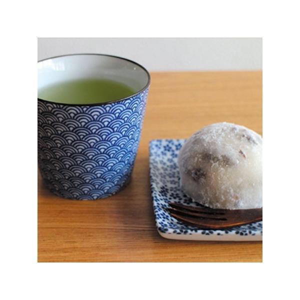 印判蕎麦猪口 青海波 朱/monono ahare/ANGLE(アングル)|pepapape|06