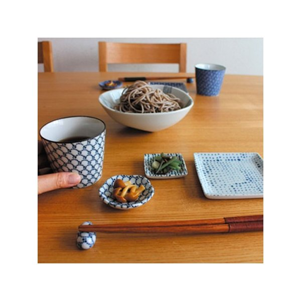 印判蕎麦猪口 さみだれ 朱/mononoahare/ANGEL(アングル)|pepapape|05