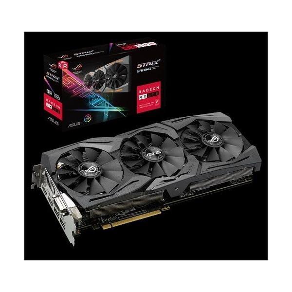 ASUS ROG-STRIX-RX590-8G-GAMING  RX590/GDDR5 8GB  Radeon RX 590搭載グラフィック