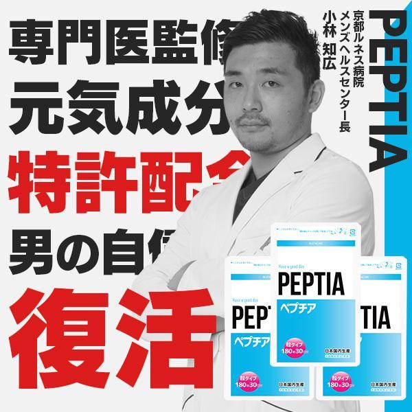 ペプチア 約3カ月分 現役専門医監修サプリメント マカ 亜鉛 アルギニン シトルリン 元気 妊活 ※ 精力剤 勃起薬 ではなく サプリ|peptia-shop