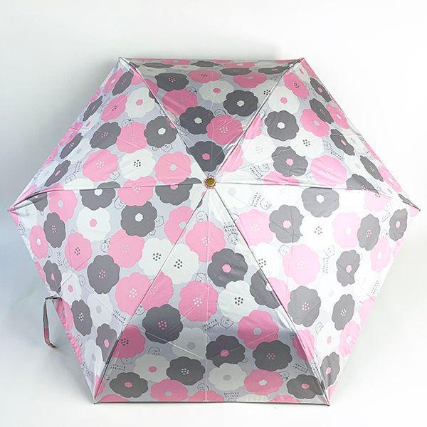 SAN-X すみっコぐらし 50cm折り畳み傘 すみっコぐらし 傘 雨具 日焼け防止 グッズ UVカット すみっコ グレー|perfectworld-tokyo