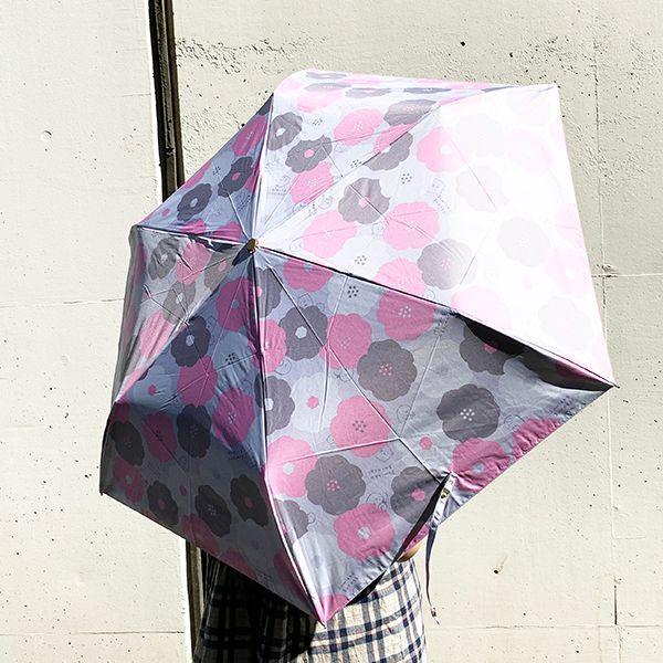 SAN-X すみっコぐらし 50cm折り畳み傘 すみっコぐらし 傘 雨具 日焼け防止 グッズ UVカット すみっコ グレー|perfectworld-tokyo|05