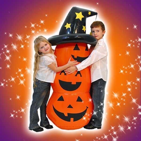 送料無料 ハロウィン パーティーグッズ 装飾 130cm かぼちゃ ロッキングパンプキン エアーバルーン|perfectworld-tokyo|02