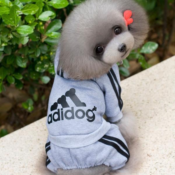 adidog    アディドッグ  犬用 つなぎパーカー 犬服 ドッグウェア  サイズ XS/S/M/L/XL/XXL 6COLORS|petfind|04
