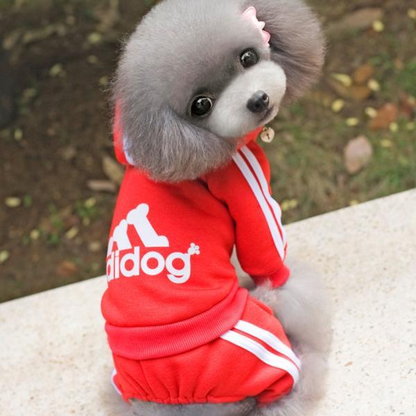 adidog    アディドッグ  犬用 つなぎパーカー 犬服 ドッグウェア  サイズ XS/S/M/L/XL/XXL 6COLORS|petfind|05