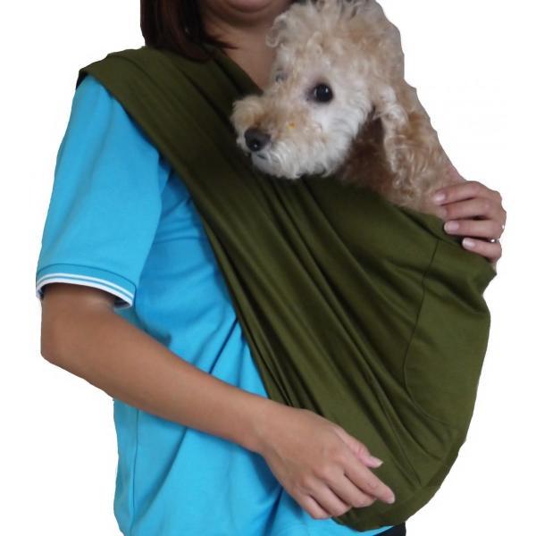 ペット スリング 犬 猫 兼用 飛び出し防止用リードきで安心お出掛け|petit-colle