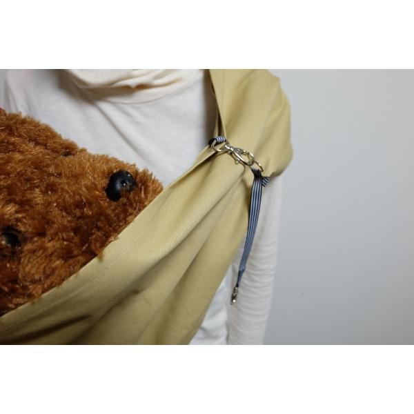 ペット スリング 犬 猫 兼用 飛び出し防止用リードきで安心お出掛け|petit-colle|04