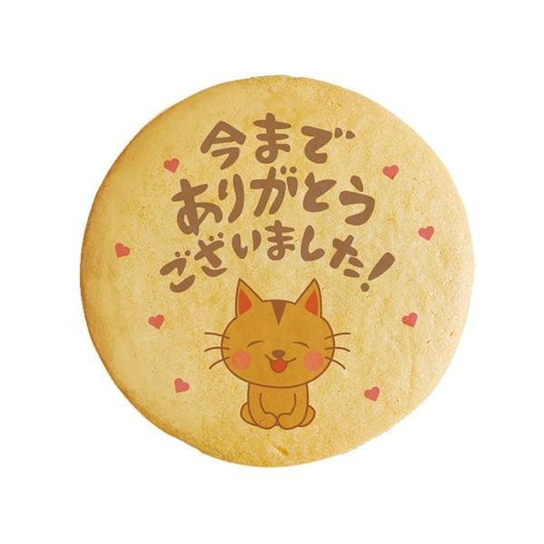 メッセージが伝わるプリントクッキー 今までありがとうございました 退職の挨拶やお礼に最適なショークッキー 退職 お礼 お菓子|petit-gift-shop