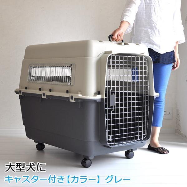 ペットキャリー DX100 XXL 大型犬 超大型犬 キャスター付 キャリーケース コンテナ クレート ハードキャリー キャリーバッグ スリング 返品キャンセル不可