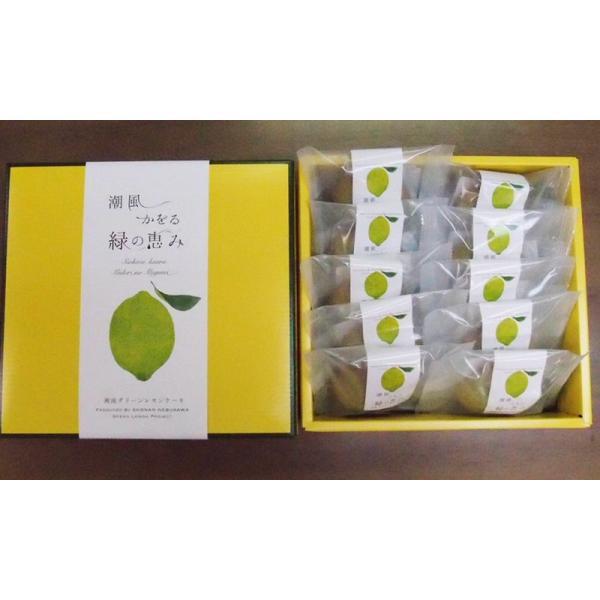 湘南グリーンレモンケーキ10個入り