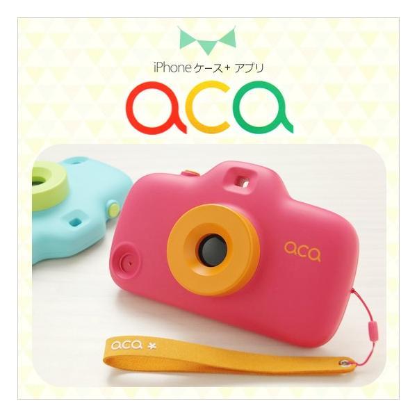 aca iPhone SE iPhone5s/5 ケース トイカメラ型 アプリ連動 アイフォン|petittomall