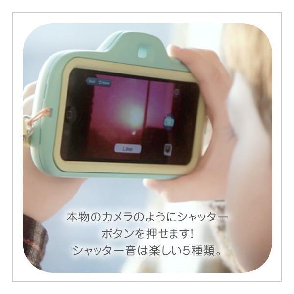 aca iPhone SE iPhone5s/5 ケース トイカメラ型 アプリ連動 アイフォン|petittomall|02