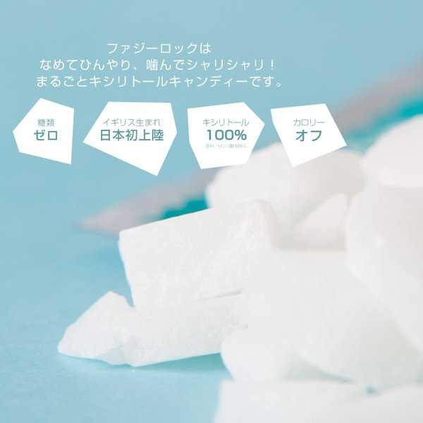 FuzzyRock ピーチ味 キシリトール 100% キャンディー タブレット あめ アメ こども 虫歯 甘い 歯磨き ノンシュガー 糖類 オフ 防災 歯 矯正|petittomall|02