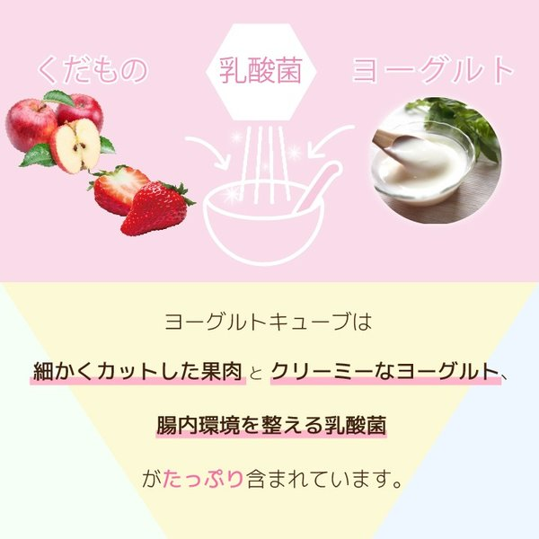 フリーズドライ フルーツ 食品 おやつ 赤ちゃん ヨーグルトキューブ りんご 16g ヨーグルト ベビーフード 防災 petittomall 03
