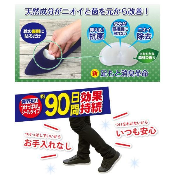 靴 消臭 抗菌 スメルアタック メンズ 一足分 2個入り 左右用 天然 由来 成分 Smell Attack!! ポイント消化|petittomall|03