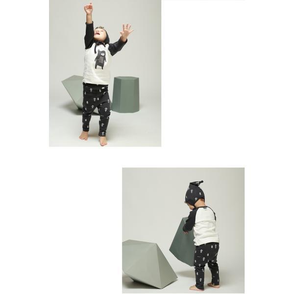 ベビー服 おしゃれ コーデ ANDY クマ 赤ちゃん オーガニック コットン 綿 ベビー  女の子 1歳 2歳 かわいい プチバード|petittomall|03