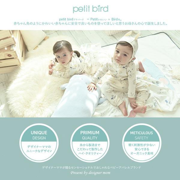 ベビー服 おしゃれ コーデ ANDY クマ 赤ちゃん オーガニック コットン 綿 ベビー  女の子 1歳 2歳 かわいい プチバード|petittomall|10