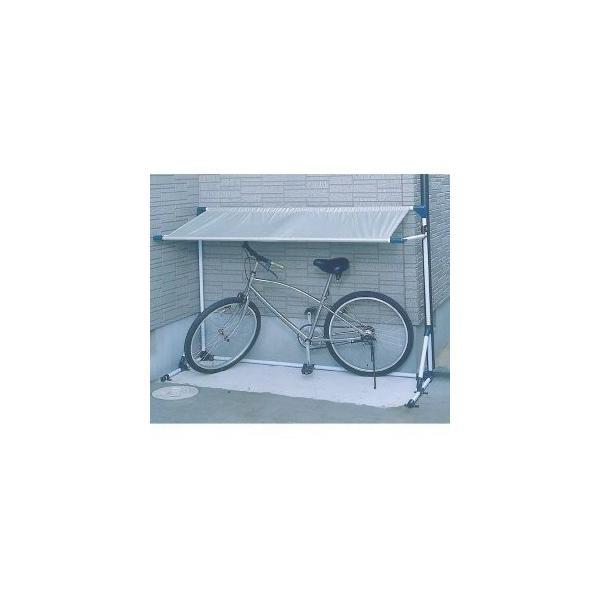 物置サイクルハウスポート省スペース屋根家庭用サイクルガレージ自転車置き場1台用CG-600アイリスオーヤマ