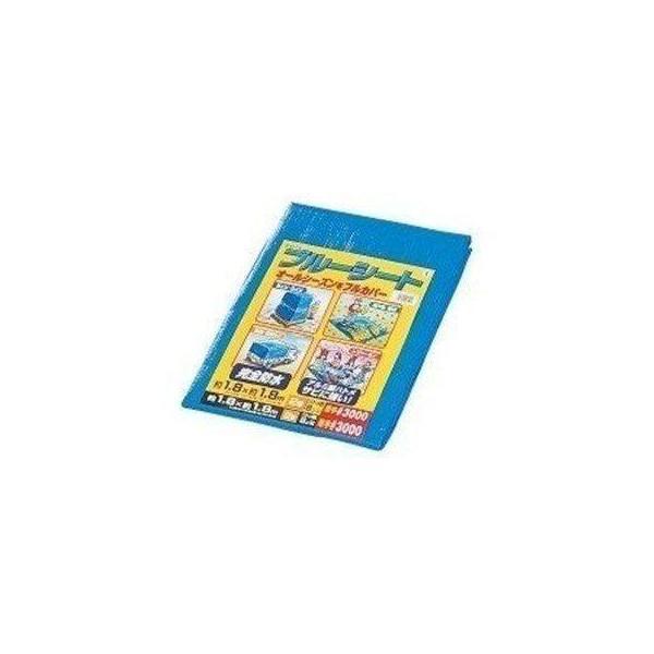 ブルーシート 厚手 防水 カラー サイズ 180×180 #3000 1.8×1.8m アイリスオーヤマ B30-1818