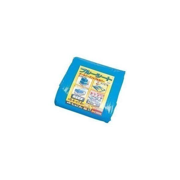 ブルーシート 厚手 防水 カラー サイズ ロール 540×720 #3000 540×720cm アイリスオーヤマ B30-5472