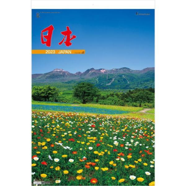 特大サイズフィルム 日本 2022 カレンダー 壁掛け 令和4年 トーハンDX カレンダー 日本風景 富士山 桜 紅葉 西湖 浄土ヶ浜 阿蘇