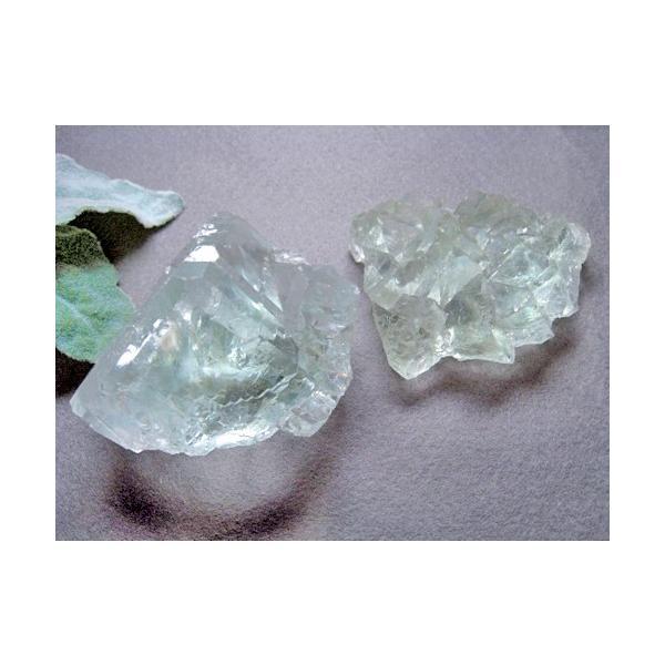 グリーンフローライト 原石 中国産 フローライト 蛍石 天然石 パワーストーン うっすらグリーンとオーロラのようなレインボーがとても綺麗!! 癒し|petora|02