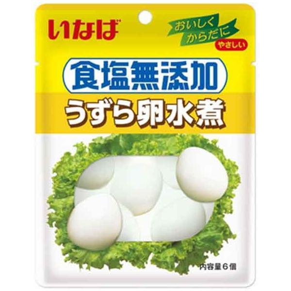 いなば 食塩無添加うずら卵水煮 6個