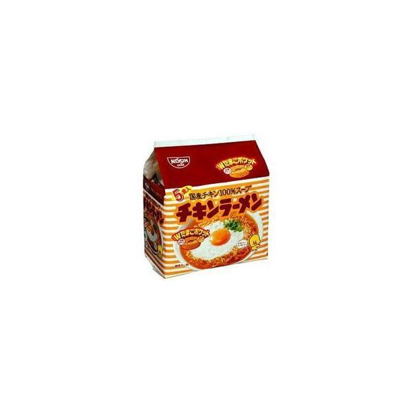 日清食品 チキンラーメン 5食パック(85g×5袋)