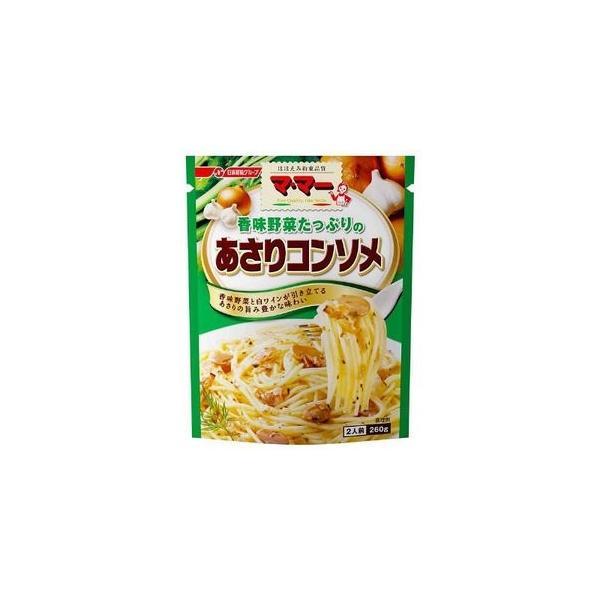 日清フーズ マ・マー香味野菜たっぷりあさりコンソメ パスタソース 260g